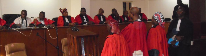 Trois nouveaux membres de la Cour ont pris service